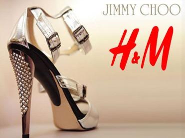 Jimmy Choo and H&M